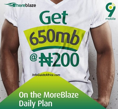 HOT! Simple Steps To Get 600MB For Only ₦200 On 9Mobile