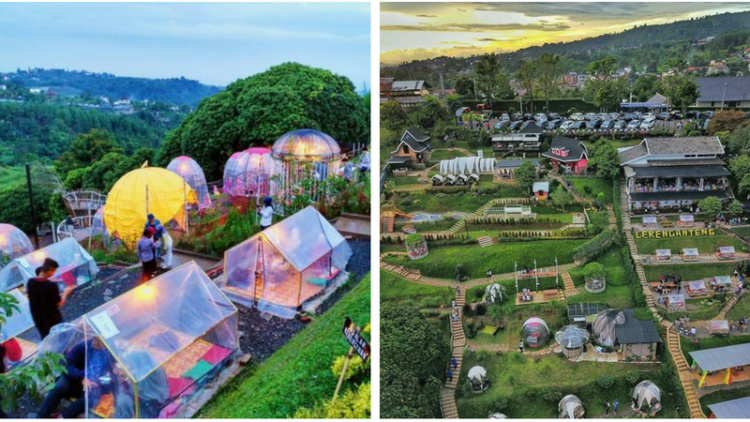 Lereng Anteng Panoramic Coffee Wisata Kuliner Hits di Bandung