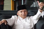 Amien Rais Marah karena di Tuding Kritik Jokowi agar Putranya Dijadikan Menteri
