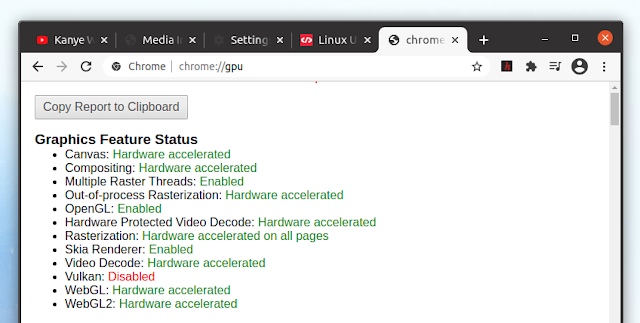 Chrome video decode hardware accelerated Linux