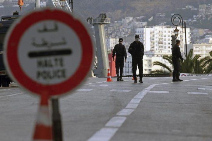 الحجر الصحي في الجزائر