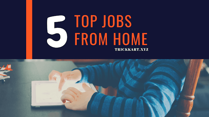 Top 5 Jobs Work From Home In today's time