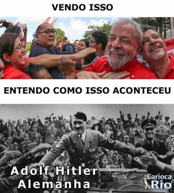 lula Adolf Hitler