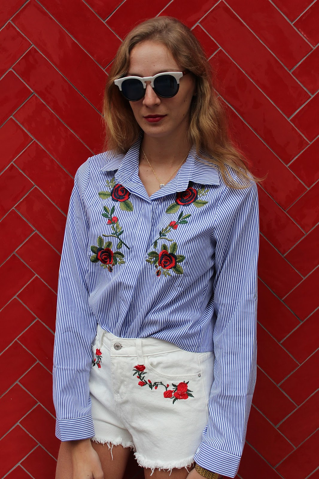 floral print street style