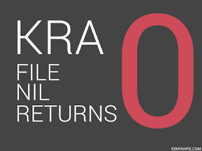 kra nil return