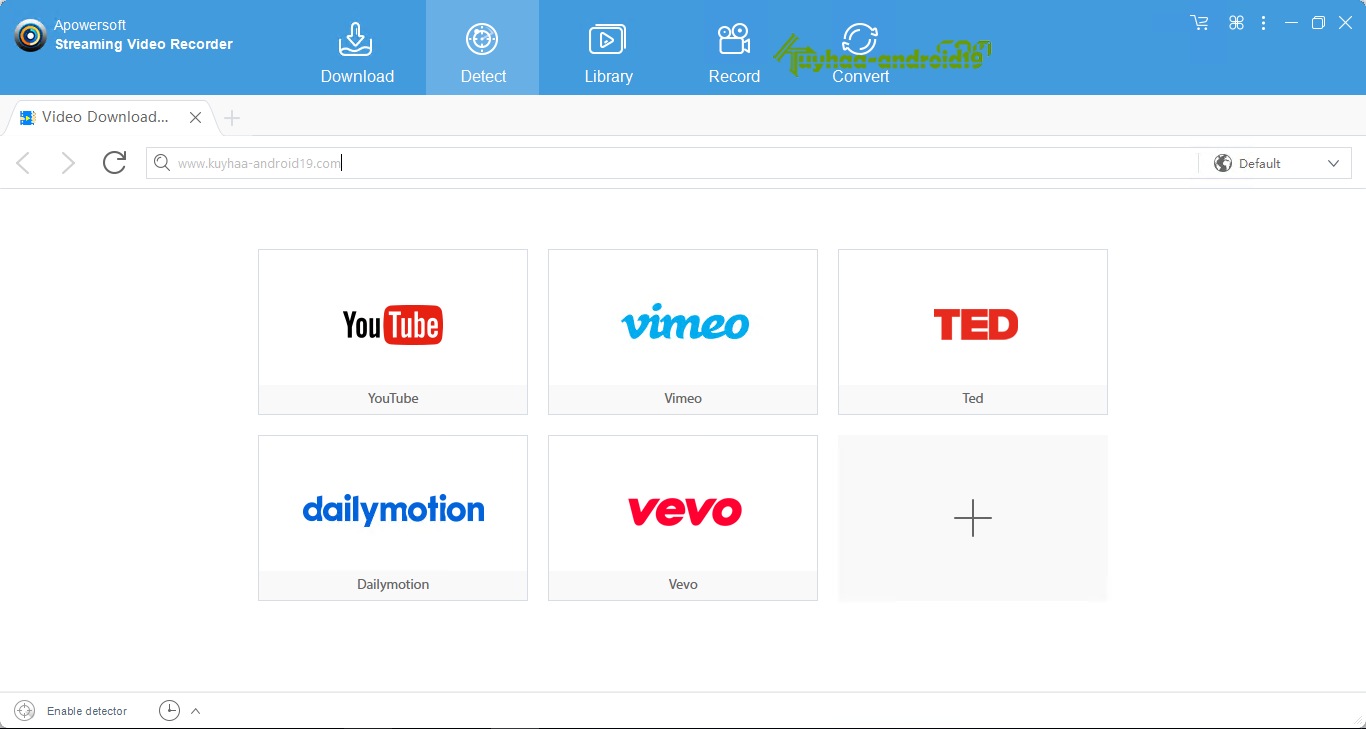 Apowersoft Streaming Video Recorder kuyhaa