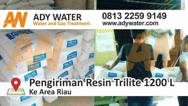 jual resin trilite, resin kation anion, harga resin