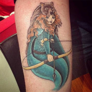 foto 7 de tattoos de princesas