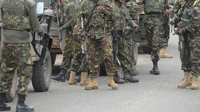 KDF officers photo