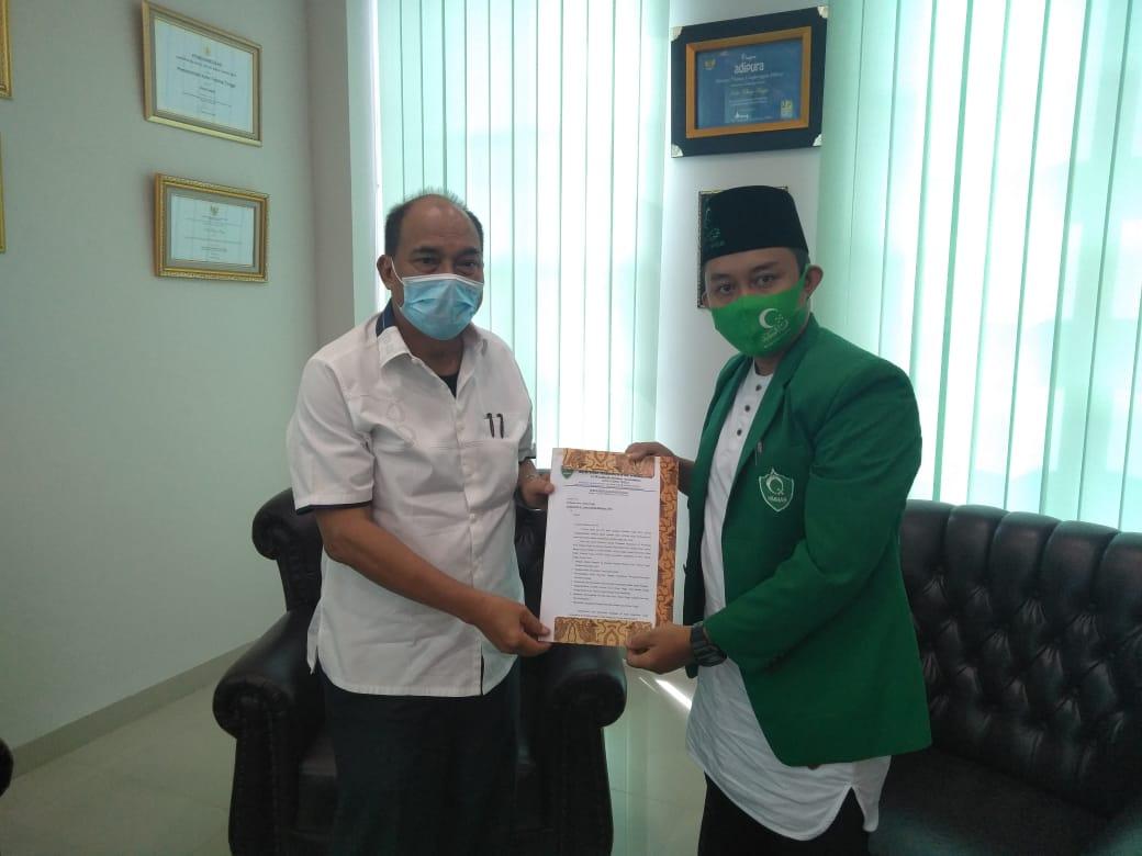 Walikota Tebingtinggi Mengapresiasi PC HIMMAH Yang Mendukung Rencana Pembangunan UINSU