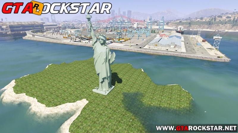 GTA V - Mod Estatua da Liberdade for GTA V PC