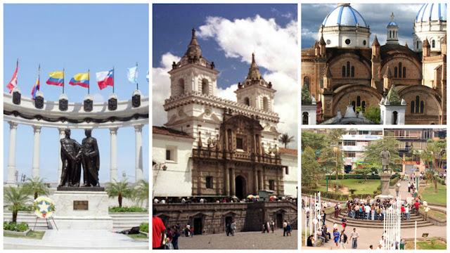 ciudades mas pobladas ecuador