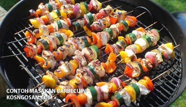 Contoh Masakan Barbecuing