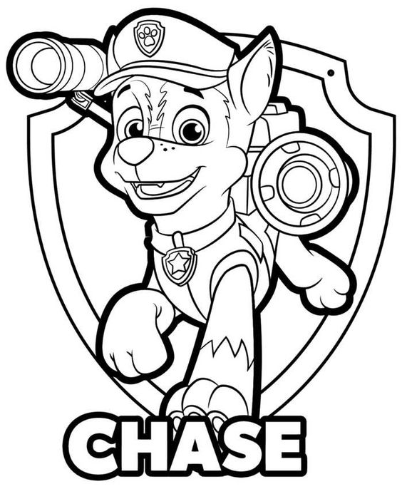 Paw patrol coloring pages 36