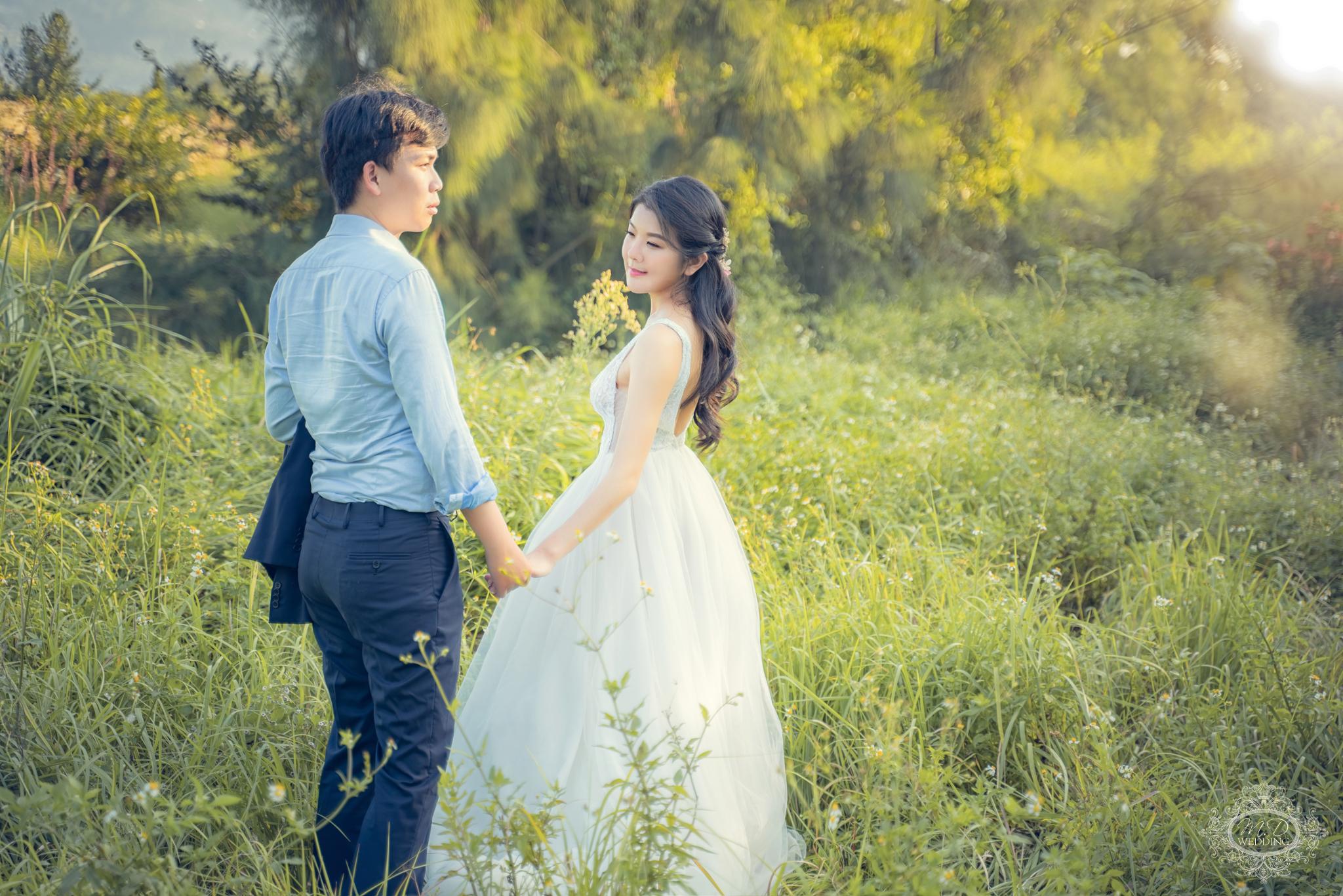浪漫/甜美/自然/美式婚紗/海邊婚紗