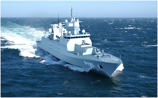 MKU On-Board The Euro 650 Million F 125 German Frigate Project