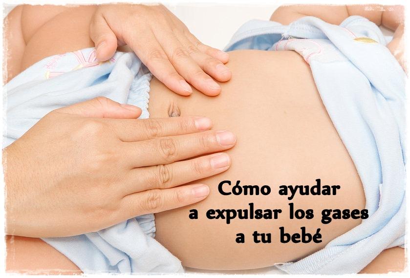 Como eliminar gases en un bebe