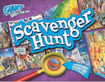 http://theplayfulotter.blogspot.com/2015/08/kidsbook-giant-scavenger-hunt.html