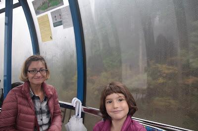 Nosotras en el teleférico