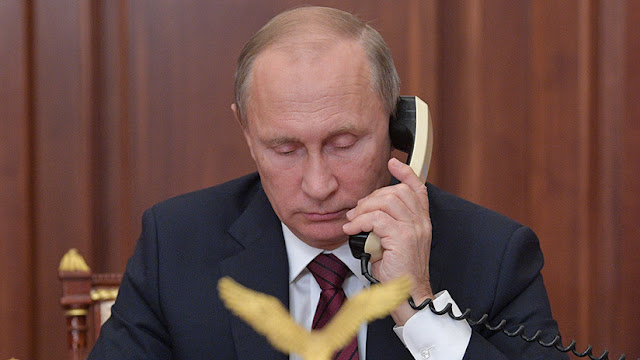 Putin y Trump analizaron la situación en Siria durante su conversación telefónica
