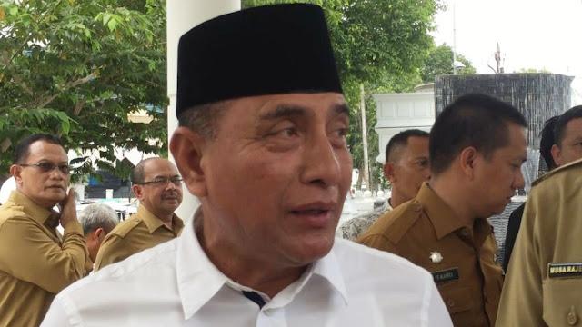 Edy Rahmayadi Tak Setuju Rencana Tito Kirim Kepala Daerah ke Singapura