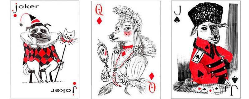 Los perros, los reyes del póker
