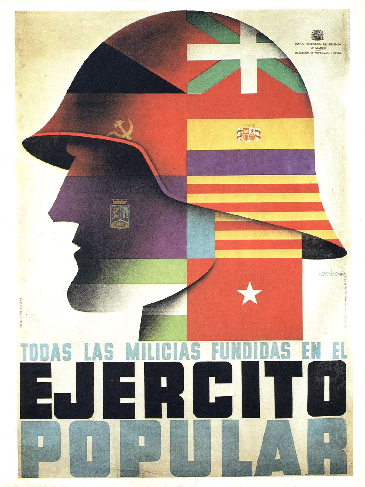 Un.Rincón.de.Sombra: Carteles de la Guerra Civil Española