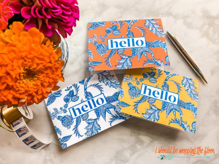 Free Hello Card Printables
