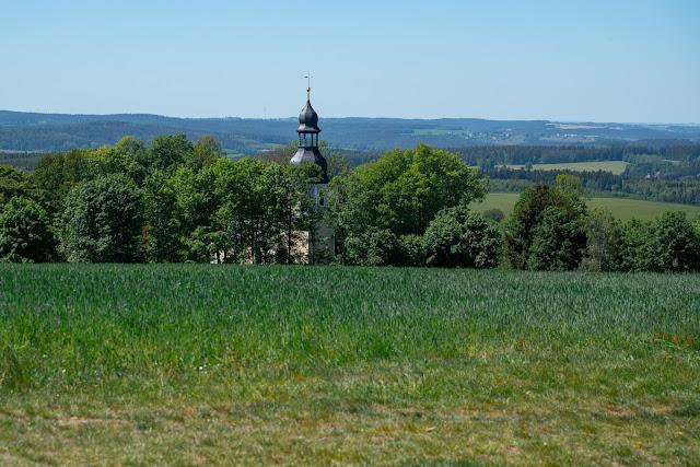 Vogtland Panorama Weg  Etappe 7 von Bad Brambach nach Markneukirchen  Wandern in Sachsen 09