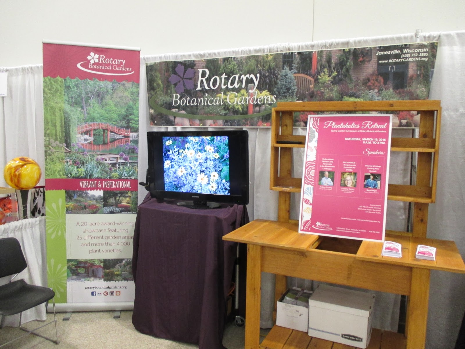 Wpt garden expo 2016 rotary botanical gardens the wisconsin public television garden expo went well this past friday through sunday up at the exhibition hall of the alliant energy center in madison wi workwithnaturefo