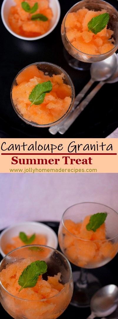 How to make Musk Melon Granita Recipe