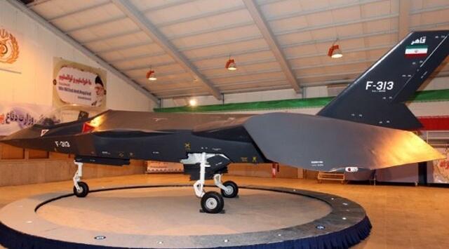 Kahhir 313 İran savaş uçağı