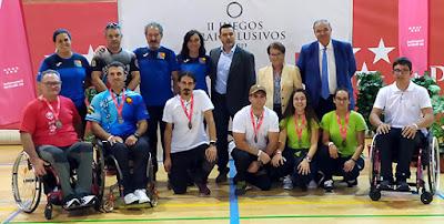 Juegos Inclusivos Madrid Tiro Arco
