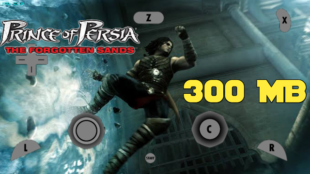 300 MB Prince Of Persia The Forgotten Sands Wii Rom Highly Compressed File