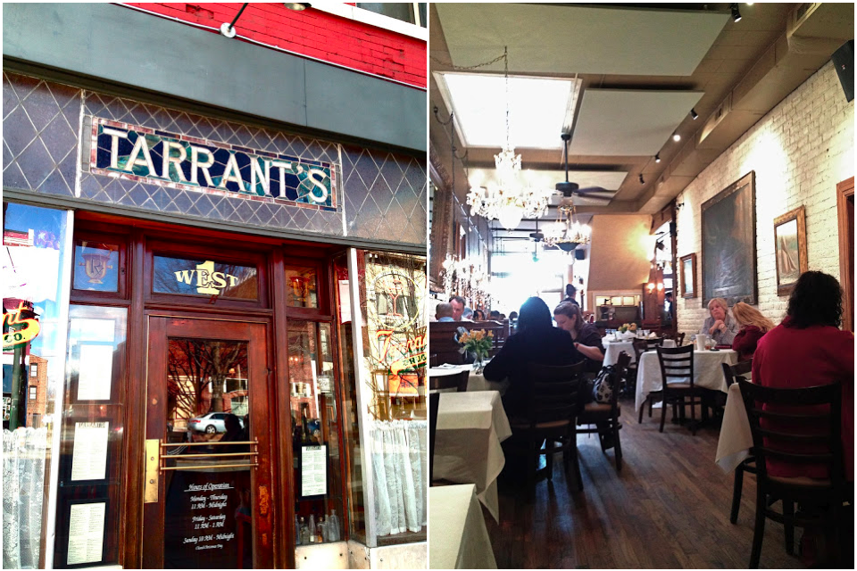 Lunch at Tarrant's Cafe | Bevy Richmond
