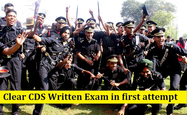 Clear CDS Written Exam in first attempt