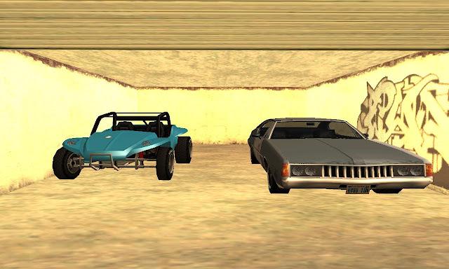 GTA San Andreas Unlock Garage Mod Free Download