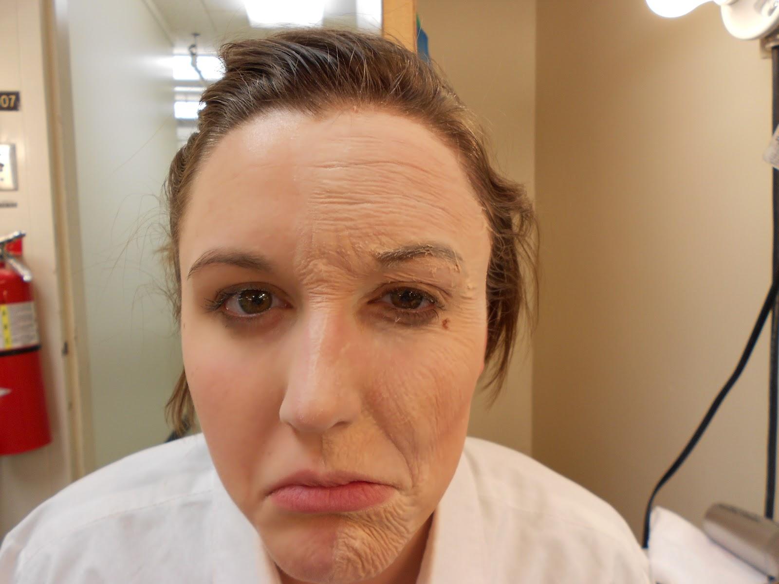 Makeup Middle Age Worksheet