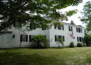 The Old Straw House in Newfield, Maine which is reportedly haunted by the ghost of Hanna Straw