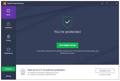 Avast Free AntiVirus v17.3