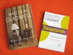 Malcolm Gladwell books - own photo