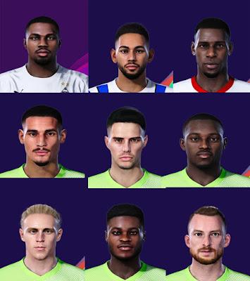 PES 2021 Bundesliga FacePack by BrkGD
