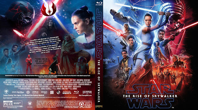 Star Wars: Episode IX - The Rise of Skywalker Bluray Cover