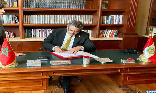 رئيس البرلمان البيروفي يشيد بجودة العلاقات بين بلاده والمغرب