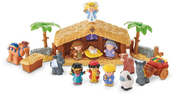 Belén infantil Little People de Fisher Price