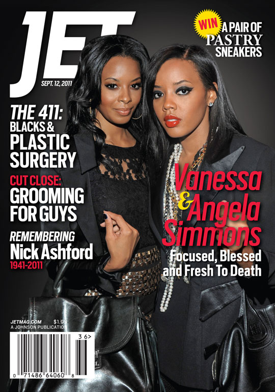 Angela, Vanessa Simmons @ JET Magazine Cover !