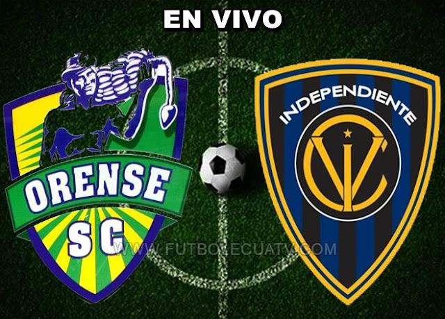 Orense recibe al Independiente del Valle en vivo a partir de las 15:30 horario determinado por la comitiva a efectuarse en el reducto nueve de mayo por la 16avos vuelta de la Copa Ecuador, siendo arbitrado por Pablo Paspuel Fraga con transmisión de la señal autorizada El Canal del Fútbol.