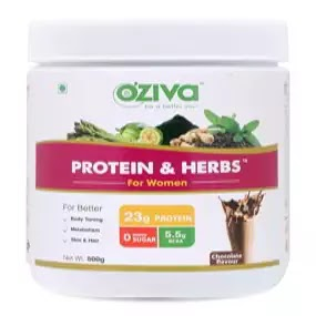 Oziva protein and herbs benefits in hindi | oziva protein side effects in hindi