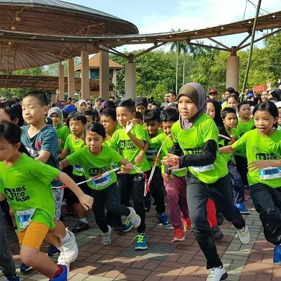 Galakkan Anak-anak sertai Kids Eco Dash - Kids Fun Run Taman Eko Rimba Bukit Nenas Kuala Lumpur