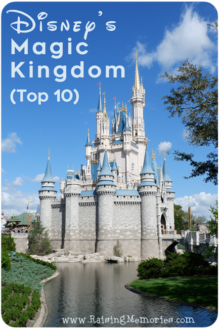 Magic Kingdom Top 10 Disney World